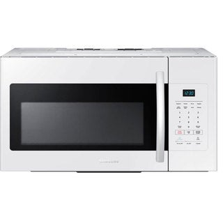 Samsung 1.6-cubic-foot Over-the-Range Microwave Oven White