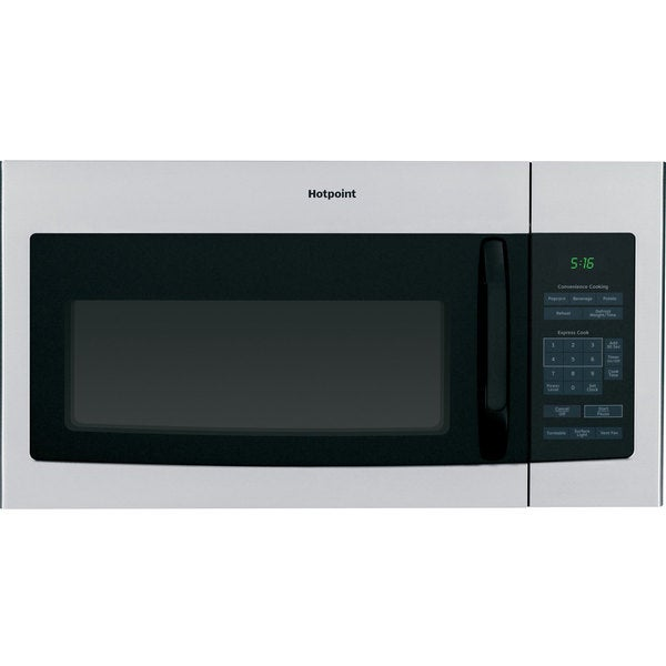 Hotpoint 1.6-cubic-foot Over-the-Range Microwave Oven Stainless Steel