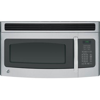 GE 1.5-cubic-foot Over-the-Range Microwave Oven Stainless Steel