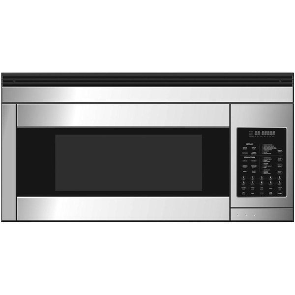 Fisher & Paykel 1.1-cubic-foot Over-the-Range Microwave Stainless Steel