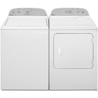 Whirlpool High-Efficiency Top Load Washer and Dryer Set