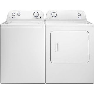 Amana 3.5 cu. Ft. Top Load laundry pair