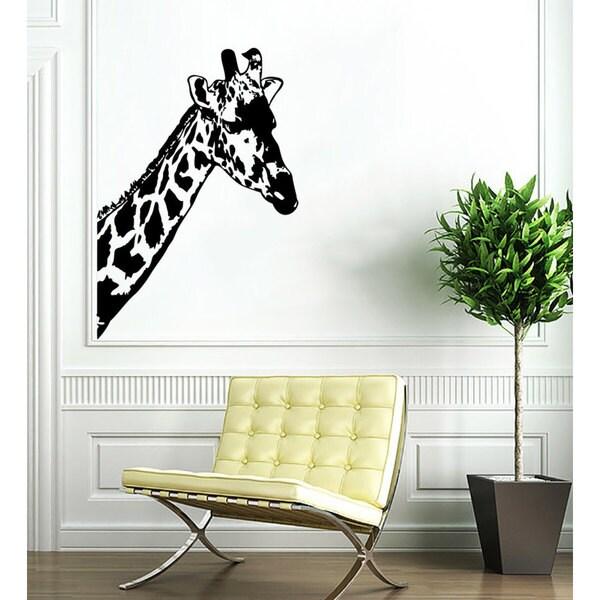 Giraffe Vinyl Sticker Wall Art