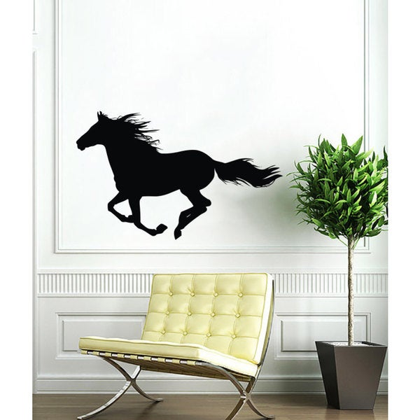Running Horse Mustang Vinyl Sticker Wall Art