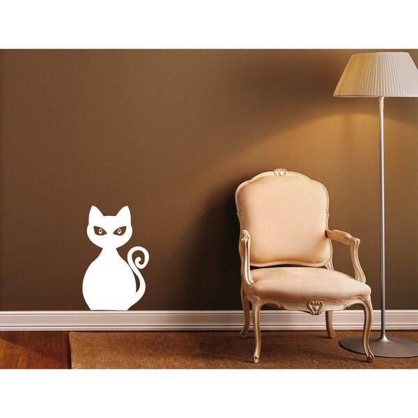 Cat Sticker Wall Art