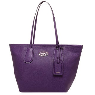 Coach Current Embossed Leather Large Tote