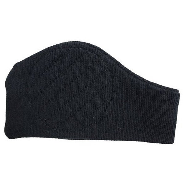 Men's Black Extra Warm Knit Head Ear Band Stretch Headband for Winter