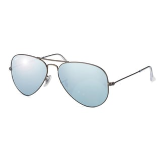 Ray-Ban Men's/ Unisex RB3025 Aviator Large Metal Aviator Sunglasses