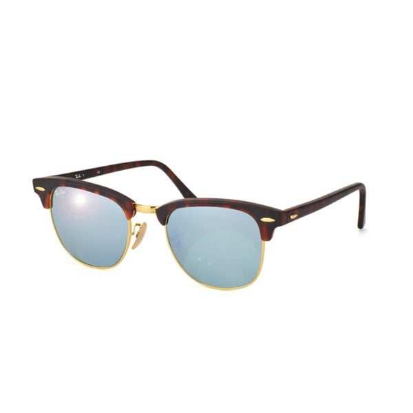 Ray-Ban RB3016 Clubmaster Rectangular Sunglasses