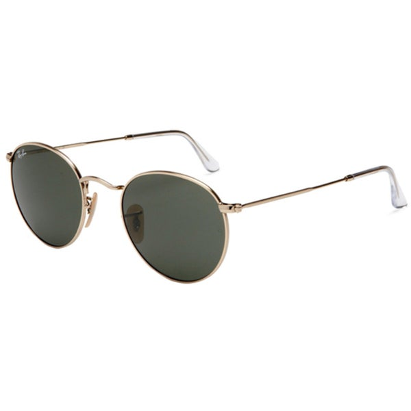 Ray-Ban Men's RB3477 Round Metal Round Sunglasses