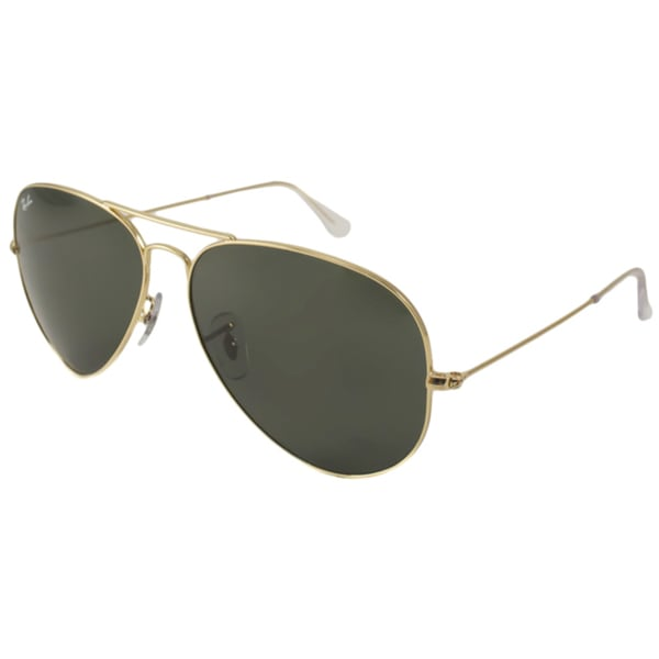 Ray-Ban Unisex RB3025 Aviator Large Metal Aviator Sunglasses