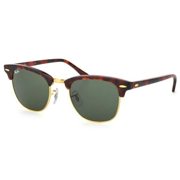 Ray-Ban RB3016 Clubmaster Rectangular Sunglasses