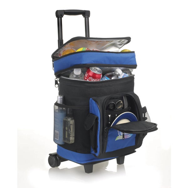 Cooler On the Move Wheeled Polyester Lunch Bag