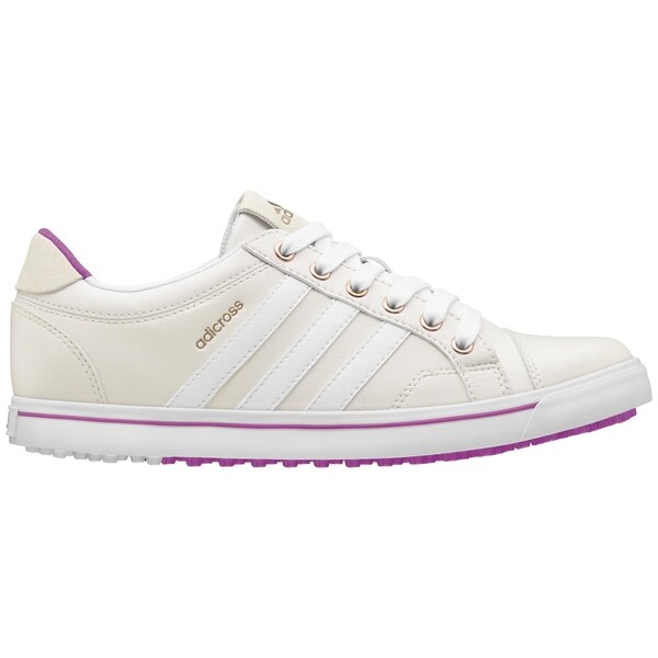 adidas Women's adiCross IV Spikeless Tour White White Flash Pink