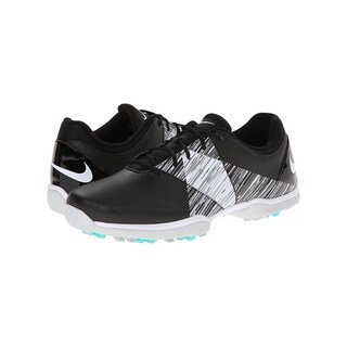 Nike Women's Delight Golf Shoes 651997-001 Spikeless Black/ White