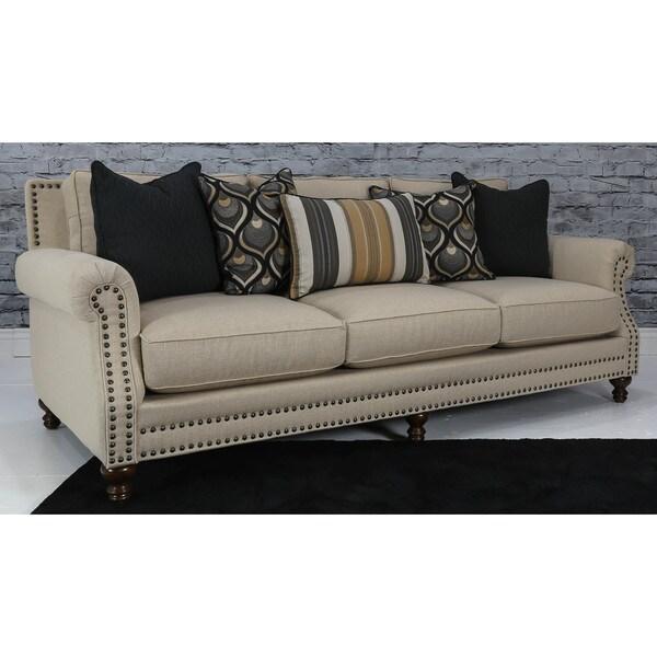 Somette Musca Beige Sofa