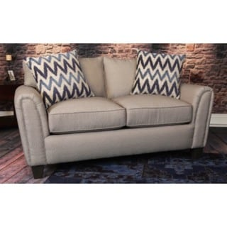Somette Dorado Taupe Loveseat