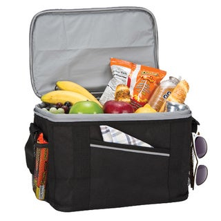 The Big Max II Black Insulated Cooler Lunch Bag