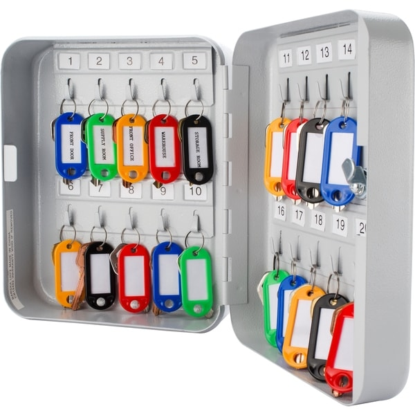 20 Position Key Lock Box with Key Lock