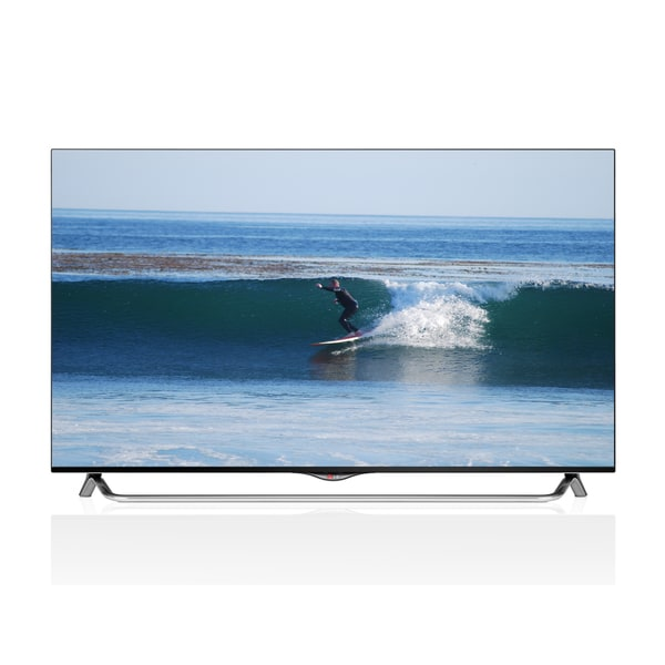 LG Reconditioned 55 In. 4K Ultra HD 120Hz 3D Smart LED TV W WIFI-55UB8500(Comes W/ 2 Pairs 3D Glasses)