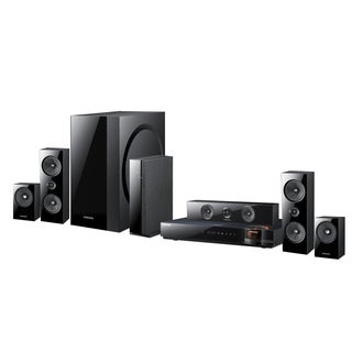 Samsung Reconditioned 1000W 5.1 CHANNEL 3D BLU-RAY HOME THEATER SYSTEM, Wi-Fi, FULL WEB BROWSER - HTE6500W