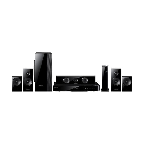 Samsung Reconditioned 1000W 5.1 CHANNEL 3D BLU-RAY HOME THEATER SYSTEM, Wi-Fi, BLUETOOTH, FULL WEB BROWSER-HTF5500W