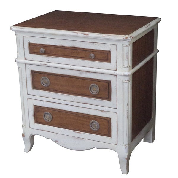 French Heritage Luberon Nightstand With Drawers