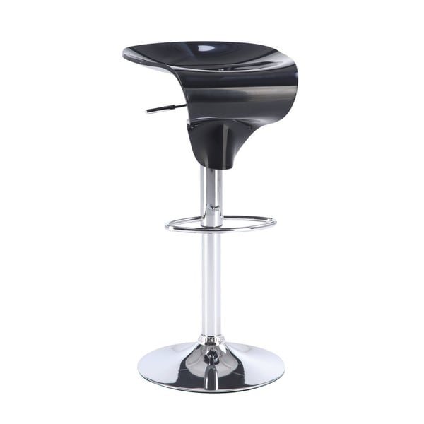 Black Moulded Bar Stool