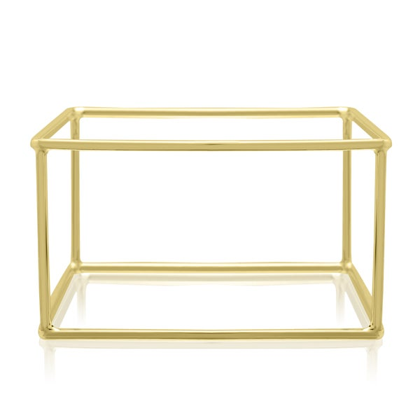 Adoriana Gold Square Bangle Bracelet