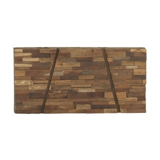 Wooden Brick Style Wall Decor