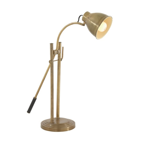 Gold-colored Task Lamp