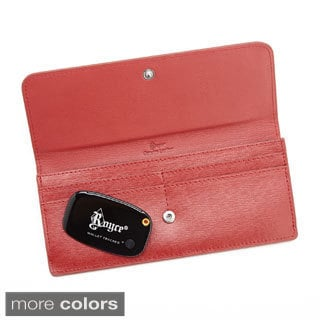 Royce Leather Freedom Wallet with Bluetooth 4.0 Wallet Tracker