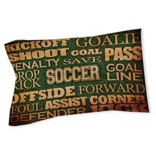 Thumbprintz Soccer Words Sham