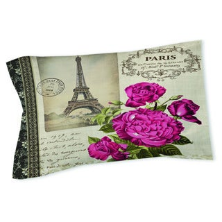 Thumbprintz Springtime in Paris All Roses Sham