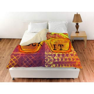 Thumbprintz Sunglasses Rock It Duvet Cover