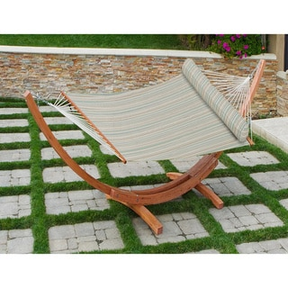 Big Daddy Hammock Set in Bay Breeze Stripe by RST Brands