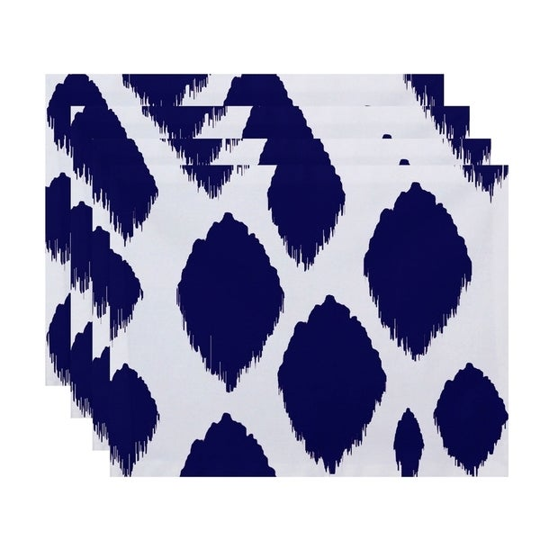 Geometric Static Polka-dot Table Top Placement