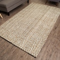 Sandscape Natural Jute Handwoven Rug (8'x 10')