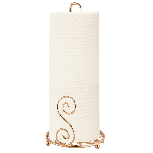 Rose Gold Paper Towel Holder