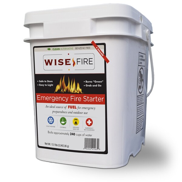 WiseFire Starter (4 Gallons)