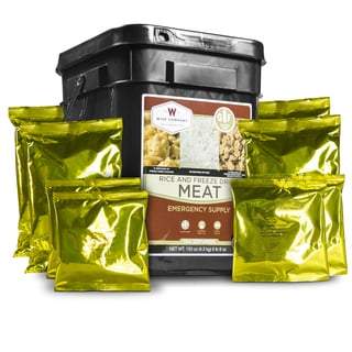 Emergency Storage Gluten-free Meat and Rice Kit (104 Servings)
