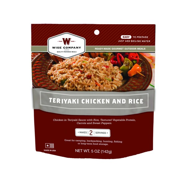 Outdoor Teriyaki Chicken and Rice (6 pouches)