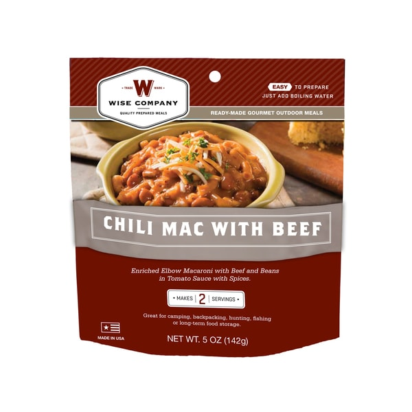 Outdoor Chili Mac with Beef (6 pouches)