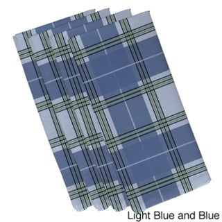 Geometric Plaid Print 19-inch Table Top Napkin 15521097