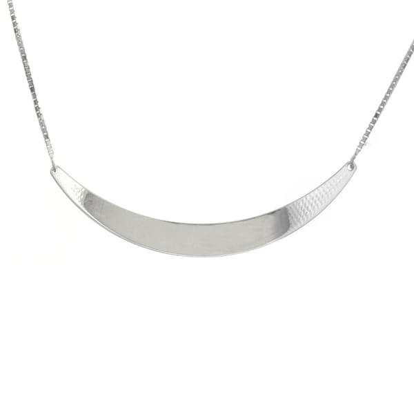 Sterling Essentials 18-inch Silver Collar Necklace
