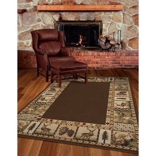 """Oxford High Country Sienna Area Rug (3'11"""" x 5'5"""")"""