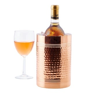 Hammered Décor Copper Fez Wine and Champagne Chiller
