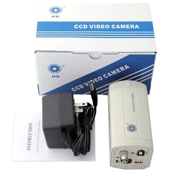 HD CCD Microscope Video Camera for TV