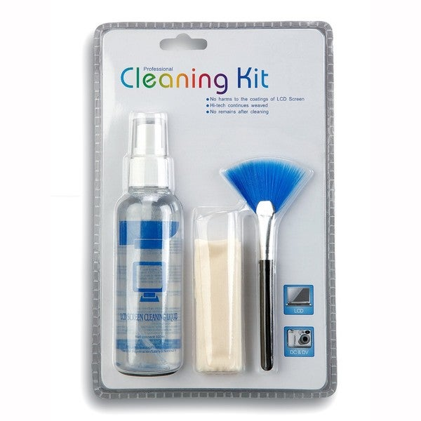 3 in 1 Professional Cleaning Kit for Microscopes Cameras and Laptops