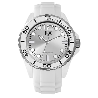 Haurex H2X Mens Reef Silver Watch